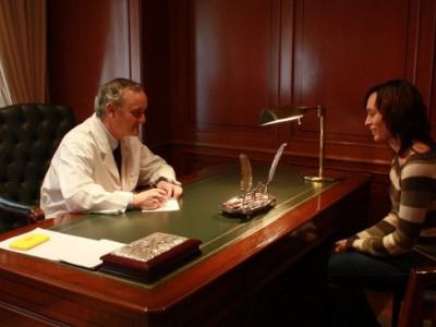 Consulta clínica Dr. Vicente Carreño - FEHV